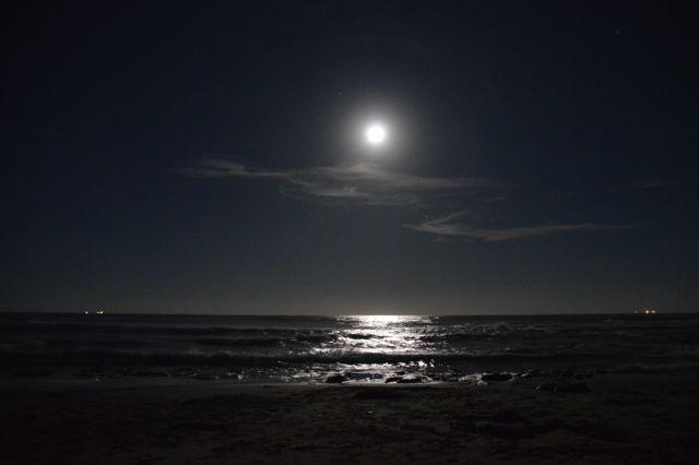 Full moon, Bulli