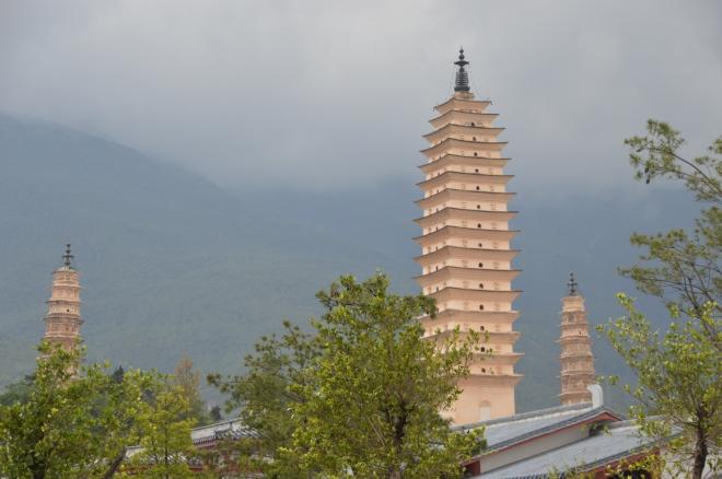 The three pagodas Dali.