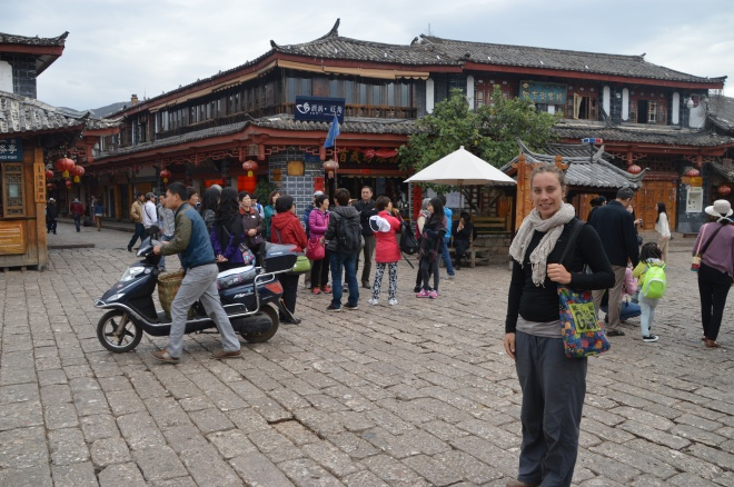 Main square Lijiang.
