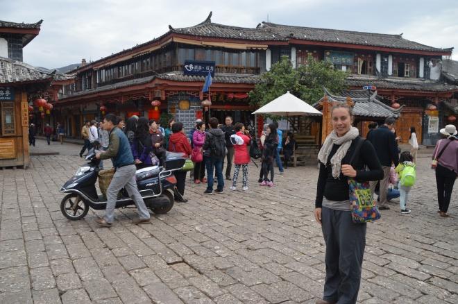 Main square Lijiang.