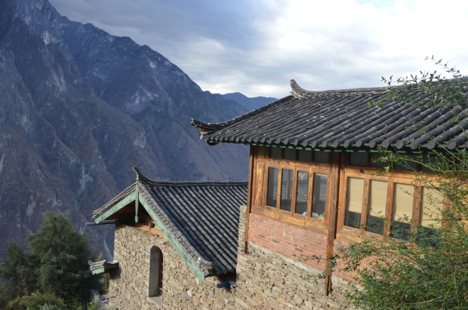 Our room overlooking the valley.