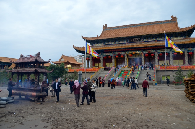Buddhist Temple Wuwei.