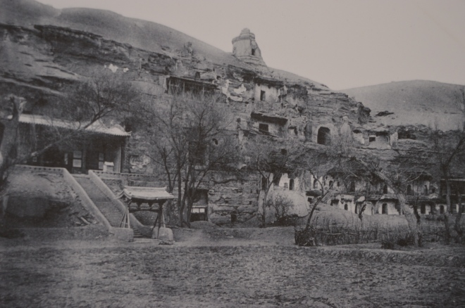 What the caves looked like a hundred years ago.