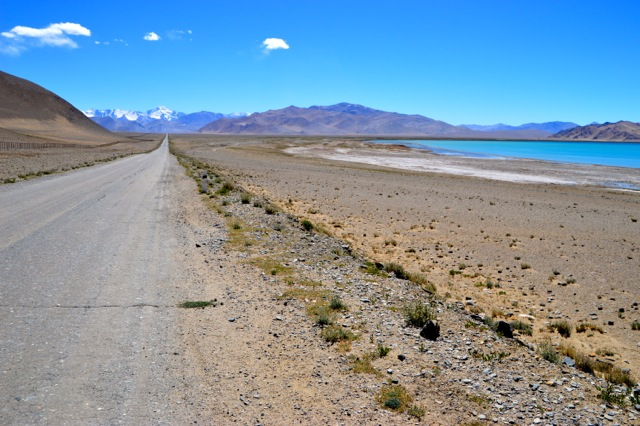 Heading away from Lake Karakol.