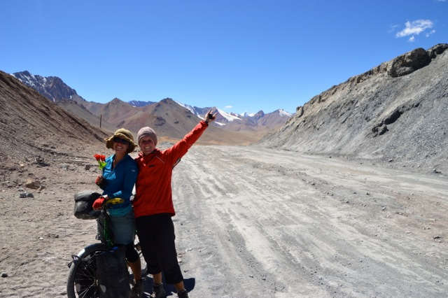 We made it!! Top of Ak-Baital Pass at 4655m.