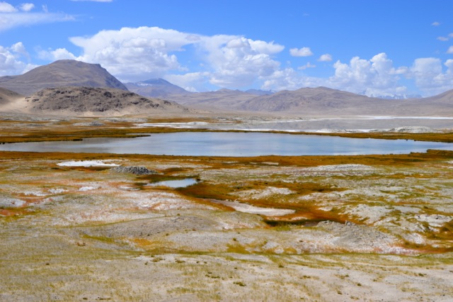 Salt lakes of beauty.