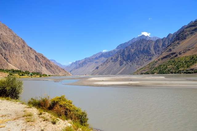 Looking up the Bartang Valley, a future cycle tour for sure.