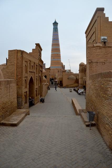 Streetscape, Khiva.