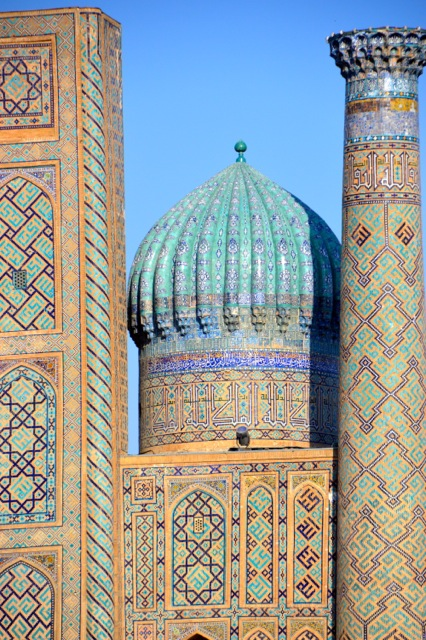 You never will forget your first view of Islamic architecture.