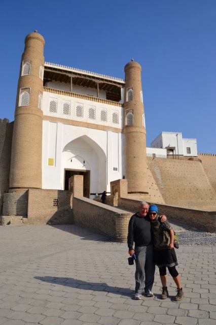 Entry to the Ark, Bukhara.
