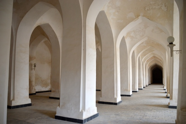 Prayer halls of Kalon Mosque.