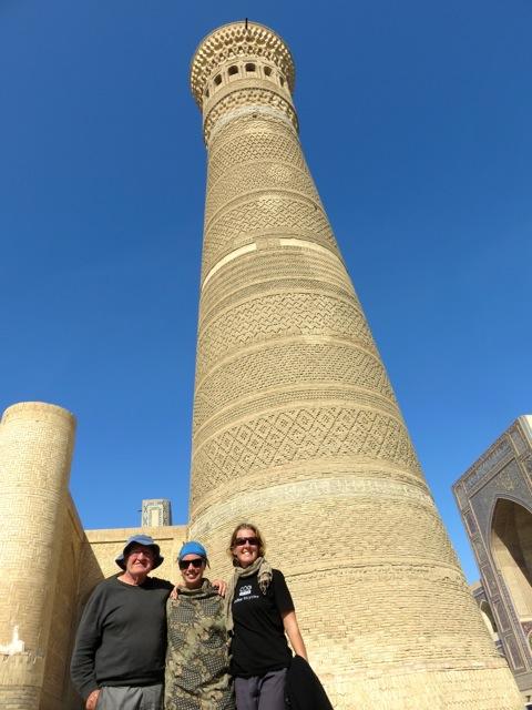 Kalyan Minaret, Bukhara.