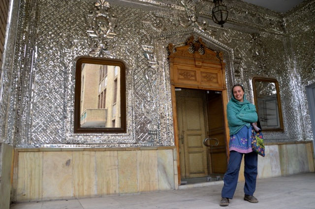 There is always lots of bling in Iran, and the Golestan Palace is no exception.