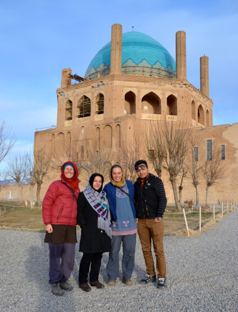 Our excursion to Soltanieh.