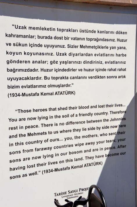 Ataturk's letter that brought tears to my eyes.