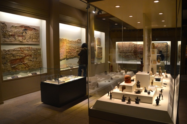 Inside the Anatolian Civilisations museum.