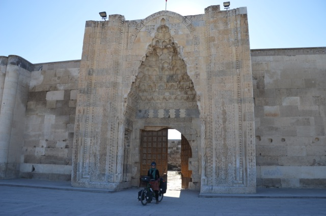 The caravanserai at Sultanhani.