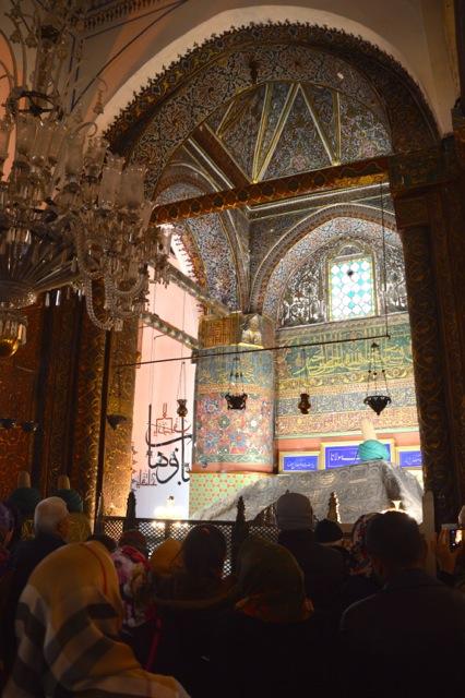 Mevlana's mausoleum.