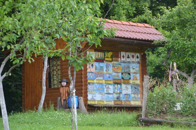 Apiaries - Slovenian style.