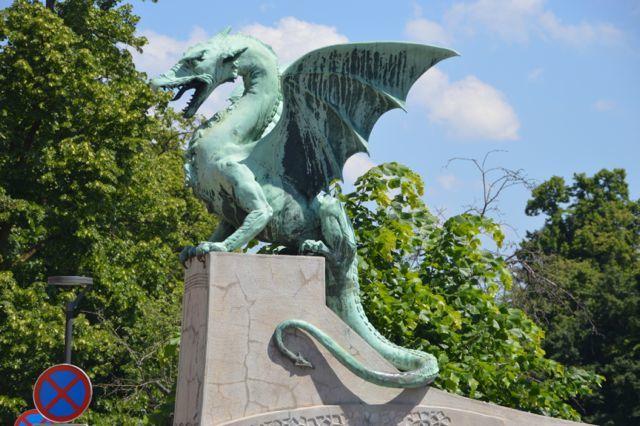 Dragons guard the bridge.