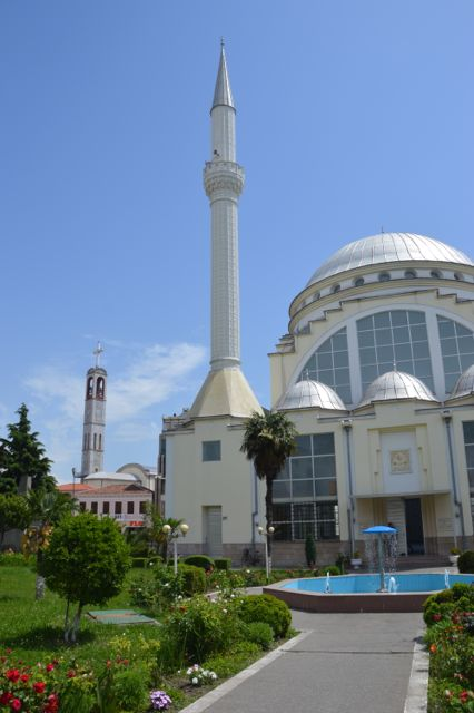 Albania's religious tolerance and integration is incredible.